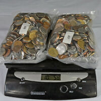 GREAT WORLD COINS 10 POUNDS; WELL MIXED BULK LOT; NO RSRV; W
