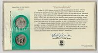 2003 ARKANSAS  FIRST DAY COVER   WITH WHITE ENVELOPE Q34   P & D STATE QUARTER
