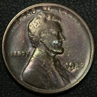 1922 WEAK D DIE3 LINCOLN WHEAT CENT COPPER PENNY