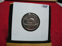1988  CANADA  1  NICKEL 5 CENTS  COIN  PROOF LIKE SEALED   HIGH  GRADE