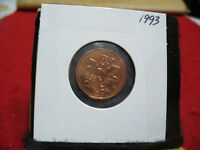 1993  CANADA  1  CENT COIN  PENNY  PROOF LIKE  HIGH  GRADE  SEALED  SEE PHOTOS