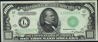 1934 A $1000 ONE THOUSAND DOLLAR FEDERAL RESERVE NOTE   SAN FRANCISCO