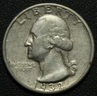 1932 S GEORGE WASHINGTON SILVER QUARTER