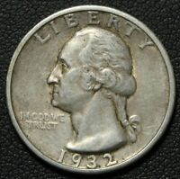 1932 S GEORGE WASHINGTON SILVER QUARTER   NICE