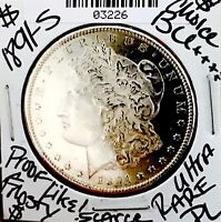 1891 S MORGAN SO  CHOICE BU   ULTRA  DATE FROSTY GEM  AMAZIN