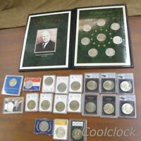 EISENHOWER ONE DOLLAR $1 COIN COLLECTION LOT $27 FACE   Y621
