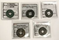 7 AD   1067 AD CHINA LOT OF 5 CASH COINS   L823