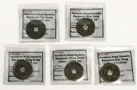 976 AD   1125 AD CHINA NORTHERN SONG DYNASTY LOT OF 5 CASH C
