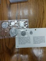 1965 CANADA 6 COIN PROOF LIKE SET ROYAL CANADIAN MINT