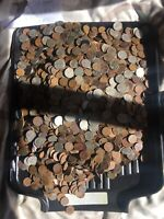 US COIN COLLECTION 24   POUNDS OF WHEATS CENTS  BUFFALO AND