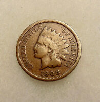 1908-S INDIAN CENT -
