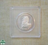 1986 VIETNAM 100 DONG CHOICE UNCIRCULATED COIN IN HOLDER