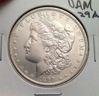 1890-P MORGAN DOLLAR - VAM-29A DOUBLED LEFT REVERSE, CLASHED OBVERSE G -