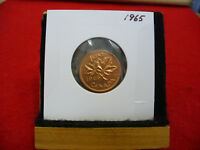 1965  CANADA  1  CENT COIN  PENNY  PROOF LIKE  HIGH  GRADE  SEALED  SEE PHOTOS