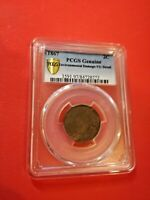 1867 TWO CENT PIECE PCGS VG DETAIL