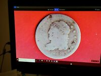 1837 CAPPED BUST HALF DIME,  &  EXPENSIVE,FULL