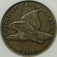 1856 FLYING EAGLE CENT PENNY NGC EXTRA FINE  45