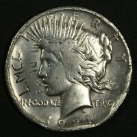 1921 HIGH RELIEF PEACE SILVER DOLLAR - ABSOLUTELY HIDEOUS