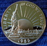 1986 S STATUE OF LIBERTY COMMEMORATIVE HALF DOLLAR   BEAUTIFUL PROOF COIN