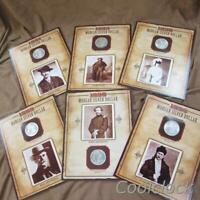 6 PC LOT MORGAN SILVER ONE DOLLAR $1 COINS & LEGENDS OF THE