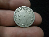 1908 US V NICKEL FIVE CENTS 5 5C LIBERTY COIN