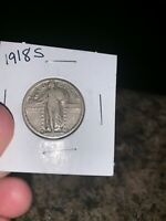 1918-S STANDING LIBERTY QUARTER - REALLY