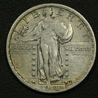 1918 STANDING LIBERTY SILVER QUARTER