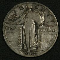 1927 S STANDING LIBERTY SILVER QUARTER