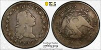 Click now to see the BUY IT NOW Price! 1795 THREE LEAVES FLOWING HAIR SILVER DOLLAR PCGS F DETAILS   CLEANED
