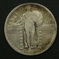 1921 STANDING LIBERTY SILVER QUARTER