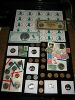 JUNK DRAWER COIN LOT PROOF COINS SILVER VICTORY NOTE CELLO L