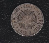 WORLD COIN 20 CENTS 1915 SILVER