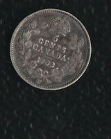 CANADA 5 CENTS 1903 H SILVER