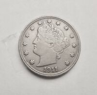BETTER 1911 - US LIBERTY V NICKEL   COIN
