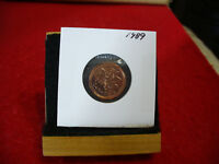 1989  CANADA  1  CENT COIN  PENNY  PROOF LIKE  HIGH  GRADE  SEALED  SEE PHOTOS