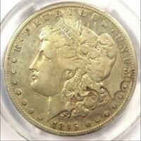 1895-S MORGAN SILVER DOLLAR $1 - PCGS F12 FINE -  DATE CERTIFIED COIN
