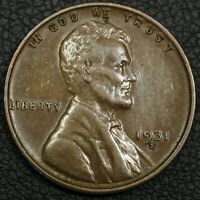 1931 S LINCOLN WHEAT CENT COPPER PENNY