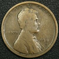 1909 S LINCOLN WHEAT CENT COPPER PENNY