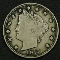 1912 S LIBERTY V NICKEL