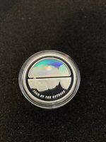 2002 AUSTRALIAN YEAR OF THE OUTBACK .999 SILVER $5 PROOF HOL