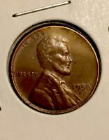 1956 D LINCOLN WHEAT PENNY   DDO DOUBLE DIE OBVERSE   TRIPLE EYELID