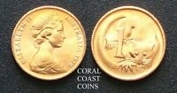 1979 AUSTRALIA 1 CENT COINS BEAUTIFUL COPPER LUSTRE STRAIGHT FROM THE RAM ROLL.