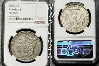 1895 S NGC EXTRA FINE  DETAILS CLEAN MORGAN SILVER DOLLAR -  400K MINTAGE  4002