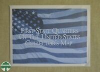FIRST STATE QUARTERS OF THE U.S. COLLECTOR'S MAP   1999 2000