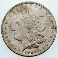 1903-O $1 SILVER MORGAN DOLLAR IN CHOICE BU CONDITION, EXCELLENT EYE APPEAL