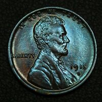 1915 D LINCOLN WHEAT CENT COPPER PENNY   QUESTIONABLE COLOR