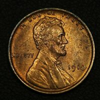 1910 LINCOLN WHEAT CENT COPPER PENNY   QUESTIONABLE COLOR
