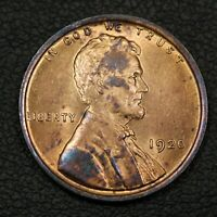 1920 LINCOLN WHEAT CENT COPPER PENNY   QUESTIONABLE COLOR