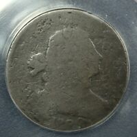 1800/79 S 196 DRAPED BUST COPPER LARGE CENT ANACS FR 02