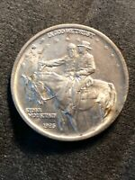 1925 STONE MOUNTAIN SILVER COMMEMORATIVE HALF DOLLAR -  BU